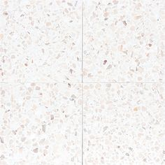 Terrazzo tiles with white background and light pink marble chips from MOSAIC DEL SUR Bathroom Floor Tiles, Tile Floor, Terrazo Flooring, Terrazzo Tile, Pink Tiles, Diy Bathroom Remodel, Pink Marble, Tiles Texture, Dream Home Design