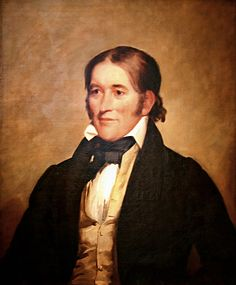 Davy Crockett (1786 – 1836), by Chester Harding--not to be confused with Fess Parker.