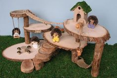 Miniature Treehouse