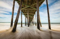 Outer Banks Nc Nags Head Fishing Pier Obx Photograph