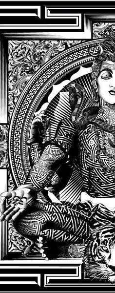60 Bestest Shiva tattoo Design And Ideas Shiva Art, Shiva Shakti, Hindu Art, Indian Gods, Indian Art, Form Design, Design Art, Design Ideas, Shiva Tattoo Design