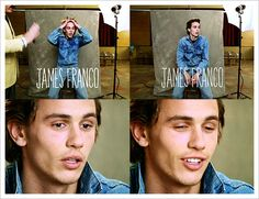 James Franco before he became the renaissance man that he is nowadays.