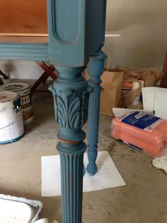 White Wax on Painted Furniture :: Hometalk