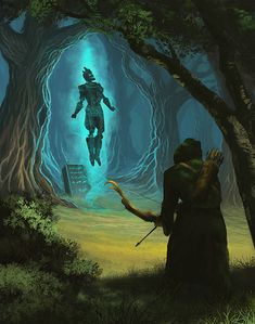 m Ranger vs undead ancient forest wilderness (61) Sacred Ground by MatthewSellers Check out...