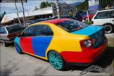 VW Jetta Harlequin...I just don't know what to say...