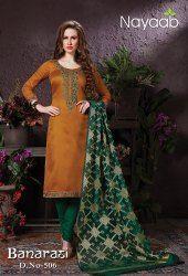 5fafe5a0ba Banarasi Dupatta Salwar Suits - Nayaab Designer Banarasi Dupatta Suit  Manufacturer from Ahmedabad