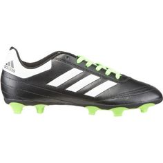 The adidas™ Boys' Goletto VI FG Soccer Cleats feature lightweight, synthetic leather uppers and traction-enhancing FG outsoles. Soccer Gear, Soccer Cleats, Adidas Samba, Solar, Adidas Sneakers, Core, Footwear, Green, Shoes