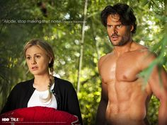 Alcide, stop making that noise. - Sookie Stackhouse