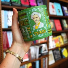 Employ the Mark Twain mug when you need to preserve the outward signs of sanity - or just when you require a clear head to write a certain thing.
