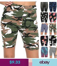 Diamond Clothing Shorts #ebay #Clothes, Shoes & Accessories Diamond Clothing, Cycling Bikes, Hot Pants, Short Outfits, Elastic Waist, Capri Pants, Tights, Shorts, Clothes For Women