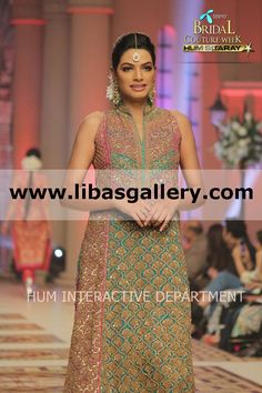 Umar sayeed's #TBCW2014 Bridal Collection 2014 - 2015 Telenor Bridal Couture Week 2014 Lahore Wedding Dresses Latest Bridal Dress Collection Pakistan Special Occasions Dresses Bridal Wedding Dresses 2014 2015 New Arrivals  Shop Online in UK USA Canada Australia Saudi Arabaia Japan Bahrain Kuwait Norway Sweden New Zealand www.libasgallery.com