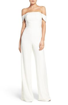 a4d65906b18 Jay Godfrey Brin Off the Shoulder Jumpsuit