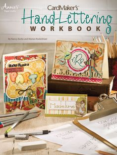 Craftdrawer Crafts: How to Hand Letter Cards and Invitations for Weddings, Parties and More!