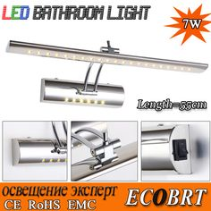 Find More LED Spotlights Information about ECOBRT 2015 Hot Sale Modern 7W Stainless Steel Wall Mounted Sconce LED lights for home bathroom Indoor Wall Lamp CE&ROHS,High Quality light booth,China light salt Suppliers, Cheap sconce lamp from ECOBRT LED LIGHTING on Aliexpress.com
