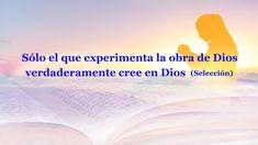 #IglesiadeDiosTodopoderoso #RelámpagoOriental #Dios #Jesús #Evangelio #LaPalabraDeDios #LaPalabraDeSeñor #Cristiano #VideosCristianos #LaVidaEterna #ElReinoDeDios #EspírituSanto #ElSeñorJesús #LaObraDeDios #LaVozDeDios  #LosÚltimosDías #ElAguaDeVida #ConocerADios #LaVoluntadDeDios Christian Devotions, Christian Encouragement, Words Of Encouragement, God, Videos, Movie Posters, Salvador, Truths, Christ
