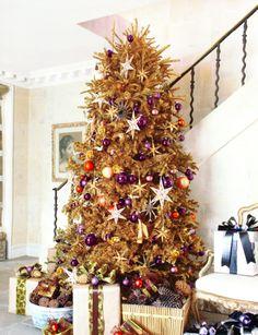 a golden tree!