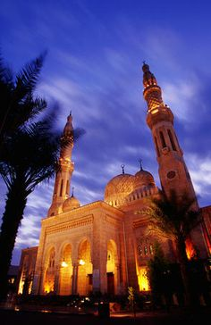 Jumeirah Mosque, United Arab Emirates - Emiratos Árabes Unidos - Émirats arabes unis DUBAI