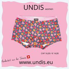UNDIS www.undis.eu die bunten, lustigen und witzigen Boxershorts & Unterhosen für Männer, Frauen und Kinder. Handgemachte Unterwäsche - ein tolles Geschenk! #geschenkideenfürkinder #geschenkefürkinder #geschenkset #geschenkideenfürfrauen #geschenkefürmänner #geschenkbox #geschenkideen #geschenkidee #shopping #familie #diy #gift #children #sewing #handmade #männerboxershorts #damenunterwäsche #schweiz #österreich #undis Weniger Gym Shorts Womens, Gift, Fashion, Self, Funny Underwear, Briefs, Gift Ideas For Women, Men's Boxer Briefs, Guy Gifts