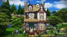 Frau Engel: TS4! Witch House.