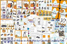 Free Halloween Hand's On Activity and Worksheet Printables! By Creative Learning Fun