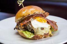 It's Breakfast Week! Check out Le Pont de la Tour's Brunch Burger...