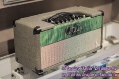 """PRS Limited Edition """"Marks Amp"""" 25th Anniversary Head with 67/68 Mods British Green with Trampus Green Panel   wildwestguitars.com"""