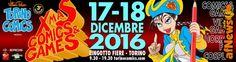 Gigi Piras a Torino Comics Xmas edition - http://www.afnews.info/wordpress/2016/11/26/gigi-piras-a-torino-comics-xmas-edition/