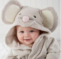 Towels Honey Baby Children Boy Girl Sleeping Towel Bath Cotton Hooded Bathrobes Cartoon Print Baby Towel Wash
