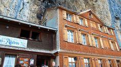 Der wundersame Hotel Aescher in Appenzellerland, Schweiz Switzerland Tourism, Multi Story Building, Alps, Traveling