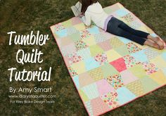 easy patchwork quilt tutorial beginner level, link to freebie tute: thanks so xox