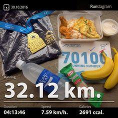It was really great to get these after a long 32km-run. Food and lucky draw were the post race attractions of Newton Challenge. . Recent activity! - 32.12 km Running #health #sport #runstagram  #runstagrammer  #run #running #runkeeper #runnerscommunity #runforabettertomorrow #sgrunners #instarunner  #worlderunners #run #nikerun #nikeplus #loverunning  #justrunlah #newtonchallenge2016 #achievementunlocked #32kmachievementunlocked