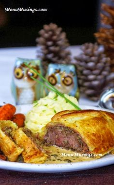 Individual Beef Wellingtons with a Green Peppercorn Sauce. Got a date night planned? This is a super elegant menu option. Don't fret.... includes step-by-step photos to walk you through it!!