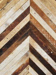 I'm absolutely mad about reclaimed wood patterns.