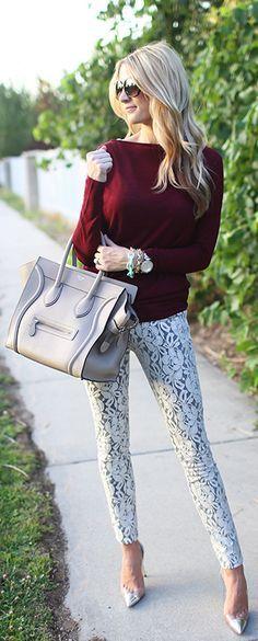 I love bold pants. Thanks for that JCrew lol.