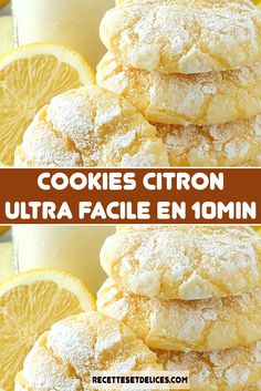 Cookies Et Biscuits, Cake Cookies, Cookie Recipes, Snack Recipes, No Cook Desserts, Coco, Love Food, Sorbets, Food And Drink