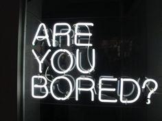 neon words.