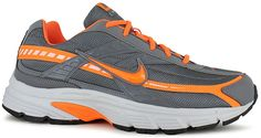 Nike Initiator Men's Running Shoe has a breathable upper and a cushioned midsole that supports natural motion with comfort and versatile wear.<br/>supportive overlays help center the foot in the shoe, soft lining enhances comfort, phylon midsole delivers a well-cushioned ride, flex grooves in the outsole promote a natural range of motion through toe-off