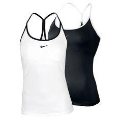 Nike Women`s Strappy Knit Tennis Tank