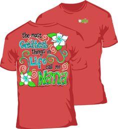 Nana Since Any Year T Shirt   T Shirts, Shirts and Mom