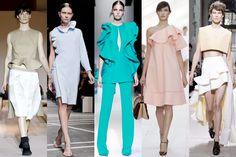 Maxi volant: Ter et Bantine, Givencht, Gucci, Chloé, Balenciaga