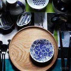 Azumaya small plate 東屋 (あづまや) 印判小皿(別注) カッコー