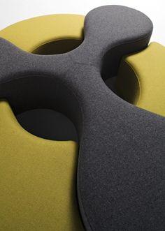 Shop the Molecule Ottoman and more contemporary furniture designs by La Cividina at Haute Living.
