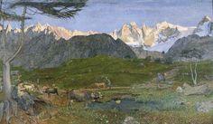 Giovanni Segantini, La vita. 1896-1899. Oli sobre tela, 190 x 322 cm. St. Moritz: Segantini Museum.