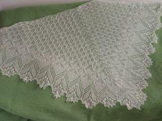 Схема Эолова шаль / Вязание спицами / Вязание для женщин спицами. Схемы вязания спицами