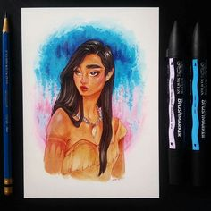 Pocahontas by Sara Tepes (@sarucatepes)