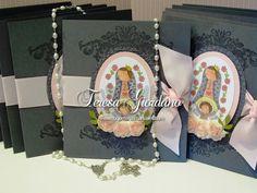 virgencita First Communion, Scrap, Invitations, Diy, Party Ideas, Fort Lauderdale, Miami, Design, Hand Crafts