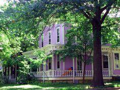 Purple House Hopewell NJ by Nancy Chambers, via Flickr