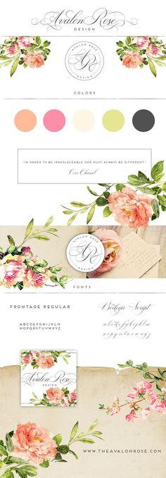 Avalon Rose Design Rebranding Sale!