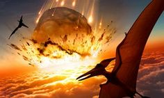 Dinosaurs killed off by 'one-two punch' of climate change and asteroid strike – study | Science | The Guardian