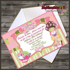 Adorable Makeup Spa Theme Printable Personalized Birthday Invitation Digital File by DigiGraphics4u on Etsy (scheduled via http://www.tailwindapp.com?utm_source=pinterest&utm_medium=twpin&utm_content=post1709189&utm_campaign=scheduler_attribution)